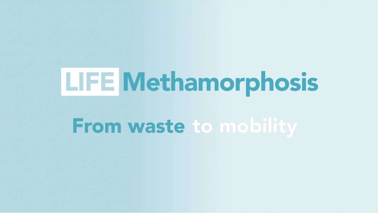 From waste to mobility